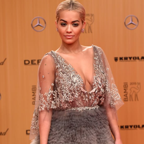 Rita Ora in Marchesa Dress at Bambi Awards 2015