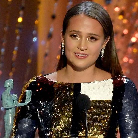 Alicia Vikander's SAG Awards Acceptance Speech 2016