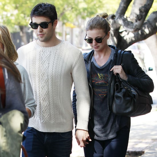 Emily VanCamp and Josh Bowman on a Lunch Date | Pictures
