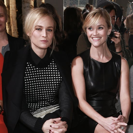 Celebrities at New York Fashion Week February 2014