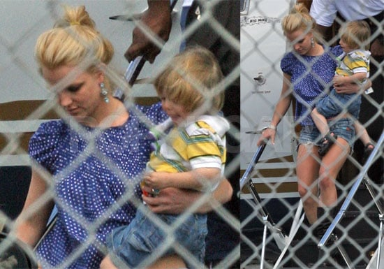 "Photos of Britney Spears, Jamie Spears, Jayden James Spears Federline in Miami, Video of Britney Saying She is ""Hanging Out"""