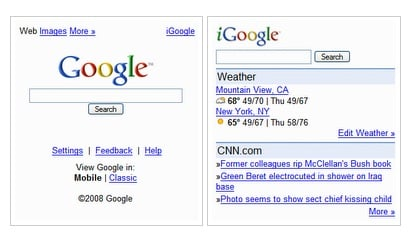 Google Gets Slick New Mobile Interface