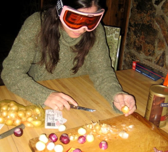 Would You Use Goggles While Cutting Onions?