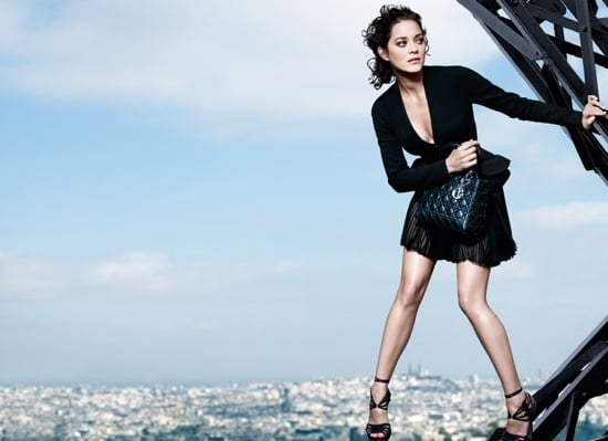 Christian Dior Taps Marion Cotillard For Lady Dior Ad Campaign