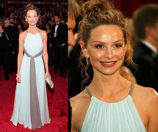 Oscars Red Carpet: Calista Flockhart