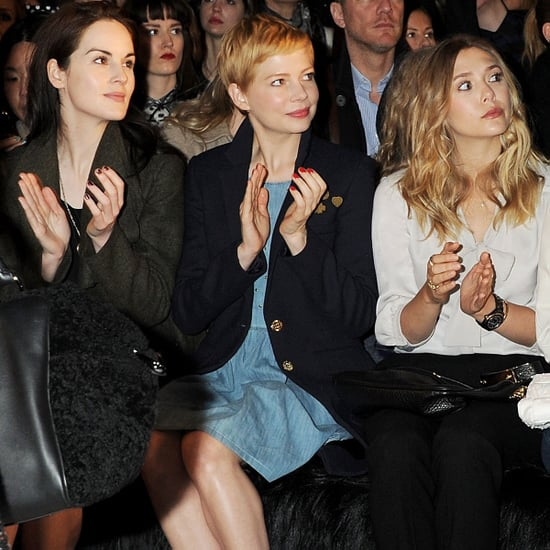 Michelle Williams Pictures at Fall Mulberry Show