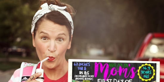 Mom Keeps It Real In Hilarious Back-To-School Photo
