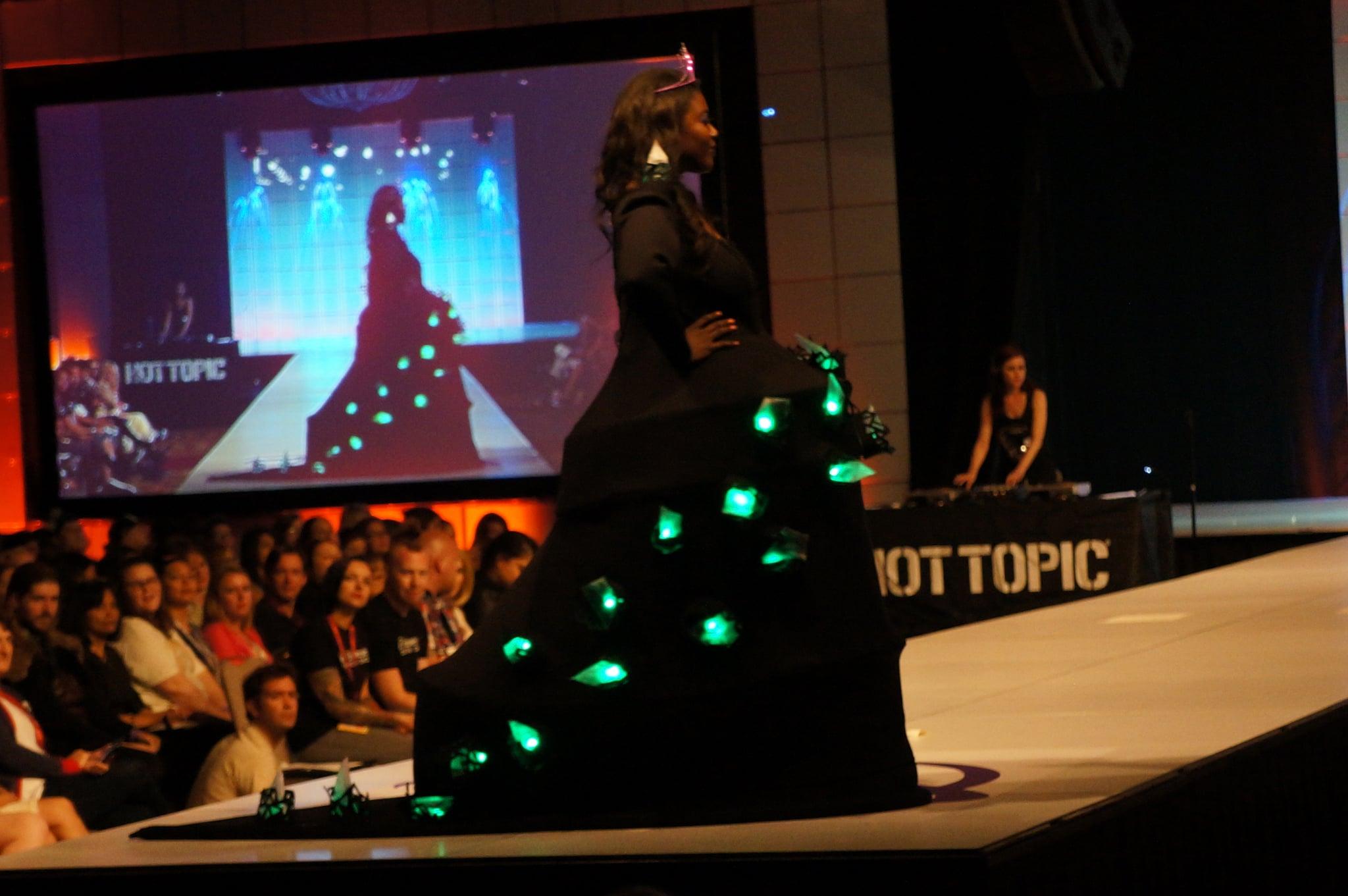The lights changed colors! Photo: Nicole Nguyen