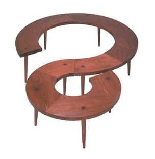 Crave Worthy:  3 Ring Table