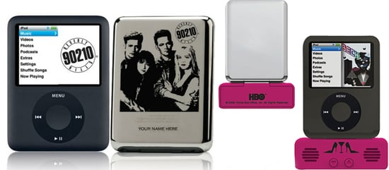 Sex and the City Gets iPod Speakers, Beverly Hills, 90210 Etched on an iPod