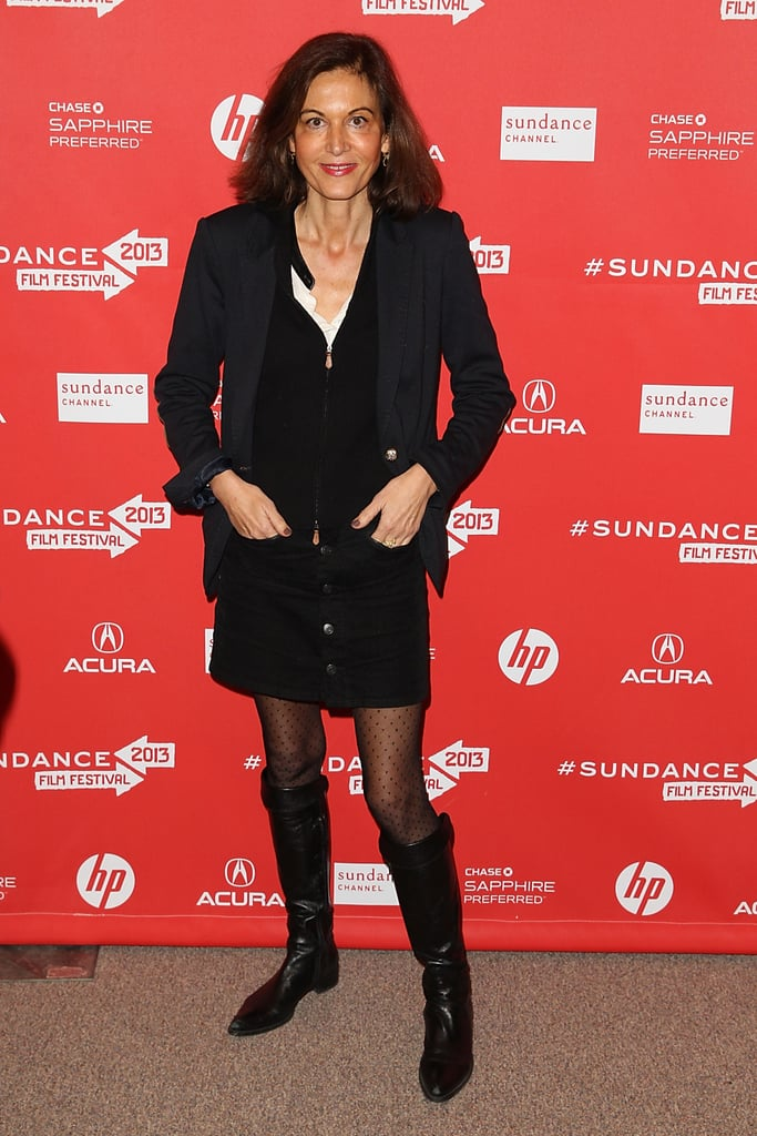 Anne Fontaine at the Sundance Film Festival.