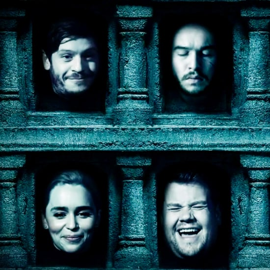 James Corden's Game of Thrones Hall of Faces Parody