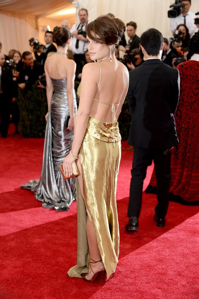 Lea Michele at the Costume Institute Ball