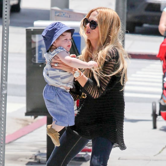 Rachel Zoe and Skyler Walking Pictures