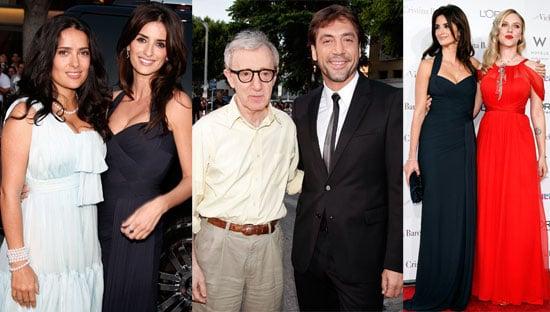 Red Carpet Photos from Vicky Cristina Barcelona Premiere including Scarlett Johansson, Penelope Cruz, Salma Hayek, Javier Bardem