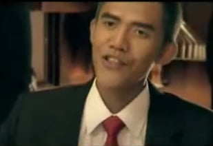 Indonesian Obama Look-Alike in Antacid Commercial