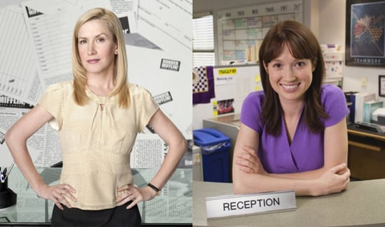 "Interview with The Office's Angela Kinsey and Ellie Kemper About Web Series ""The Mentor"" and Jim and Pam's Baby"