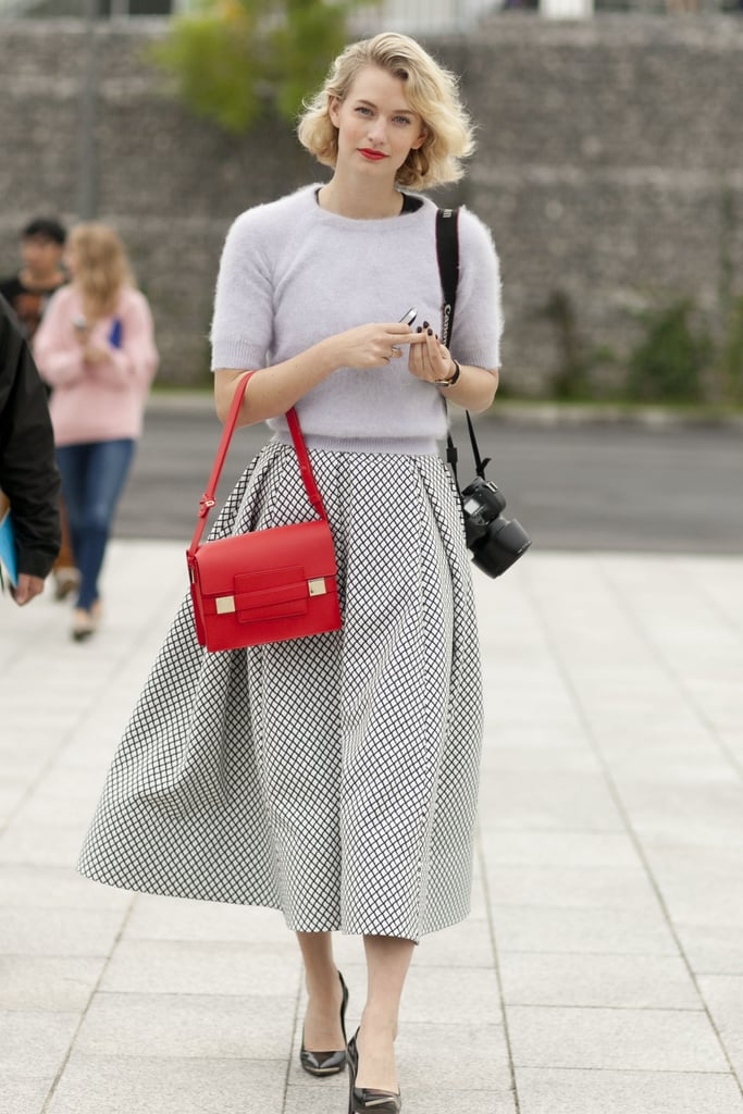 There isn't a thing we don't love about this retro-darling look.