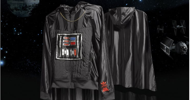 Photos of the Adidas Orignals Star Wars Edition Shoes and Jackets