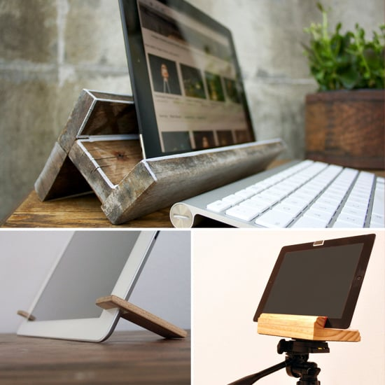 Nature's Choice: 6 Wooden iPad Stands