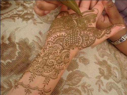 Sugar Shout Out: Bridal Henna Tattoos