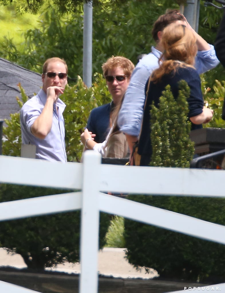 """The Royals Visit the Mansion of America's """"King"""""""