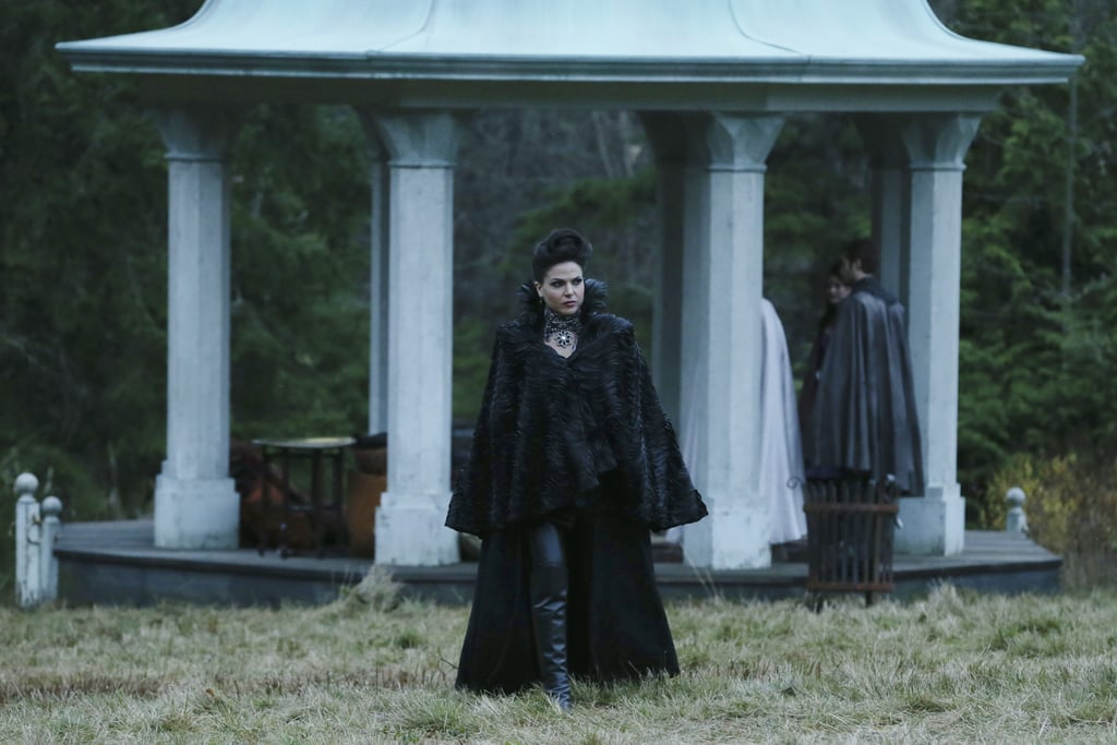 Regina is back as the Evil Queen . . . but is she back to her evil ways?