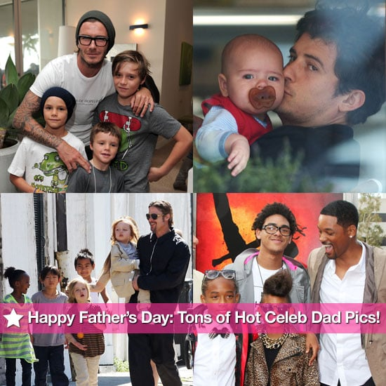 Happy Father's Day: Tons of Hot Celebrity Dad Pics!