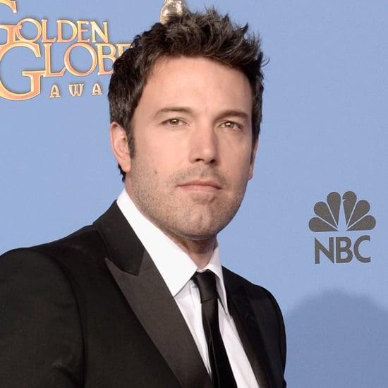 Ben Affleck at the Golden Globes 2014