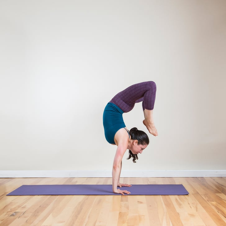 How To Do Handstand To Backbend In Yoga