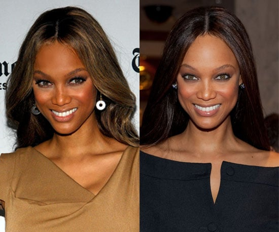 Do you like Tyra's hair lighter or darker?