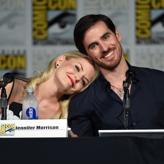 Jennifer Morrison and Colin O'Donoghue Comic-Con Pictures