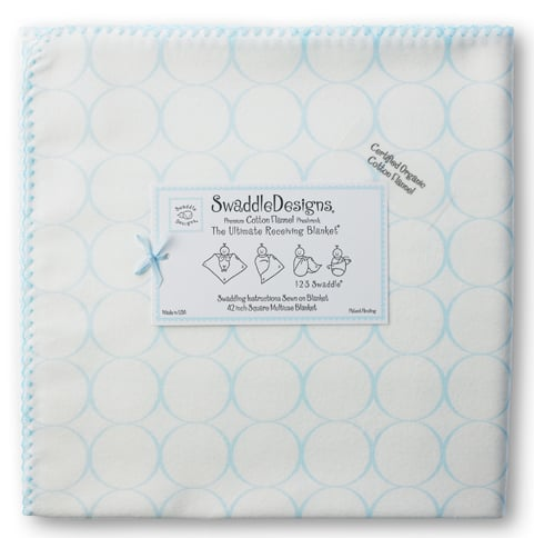 SwaddleDesigns Receiving Blanket