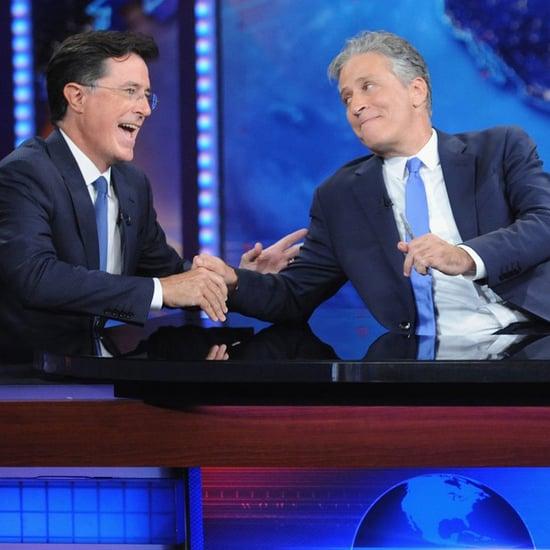 Stephen Colbert Says Goodbye to Jon Stewart | Video