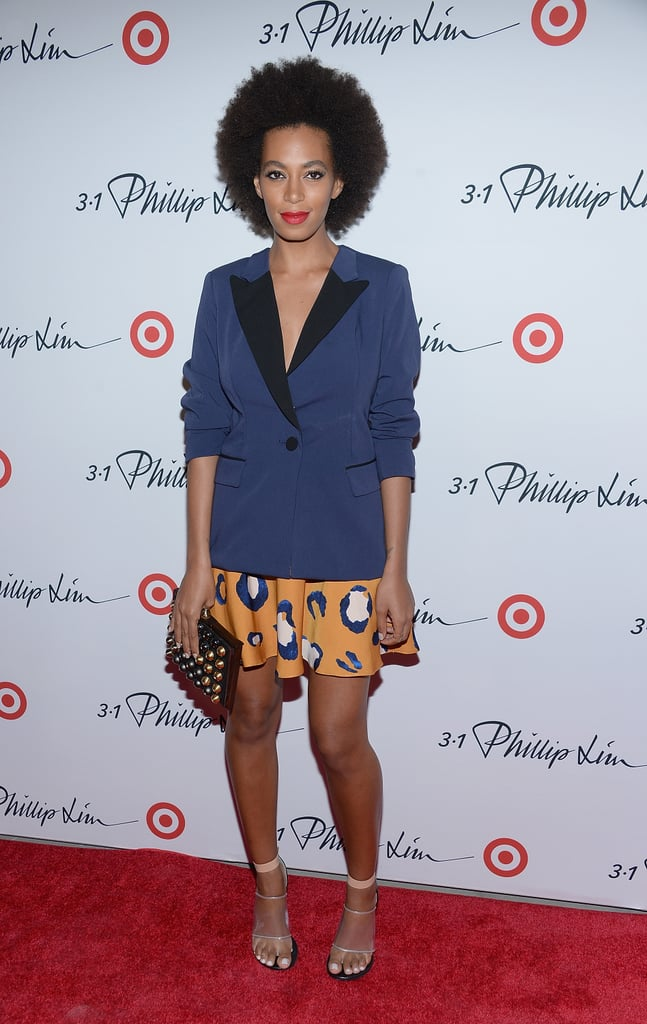 The singer was just as psyched as us for the Phillip Lim for Target launch.