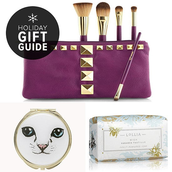 Coming up with something for a gift exchange can be stressful. You don't want to spend too lavishly, but you also definitely don't want to give a lame present. That's why POPSUGAR Beauty's 10 finds are all great options. They look more extravagant than they are, they're just the right size to go under a tree, in a locker, or atop a desk, and they're all between $4 and $31.