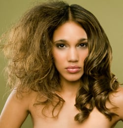 How To Combat Frizzy Hair. Beauty Glossary and Hair Tips