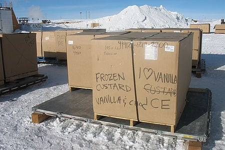 Cooking Gourmet Food at the South Pole Station