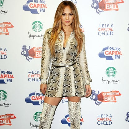 Amazing or Overkill? Jennifer Lopez's Matching Boots and Dress