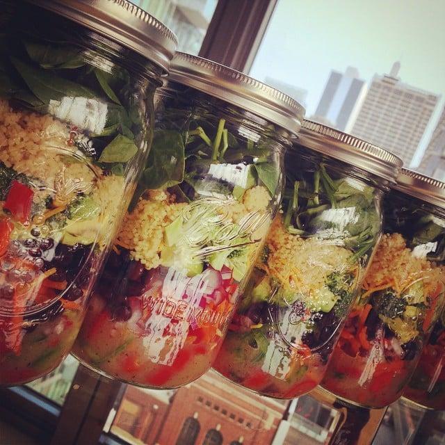 25 Mason-Jar Salad Recipes to Make Co-Workers Jealous