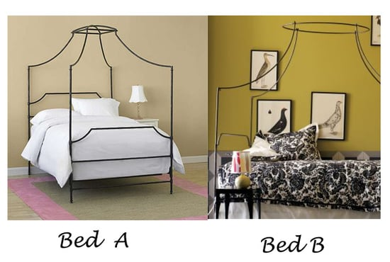 Less or More:  Campaign Canopy Beds