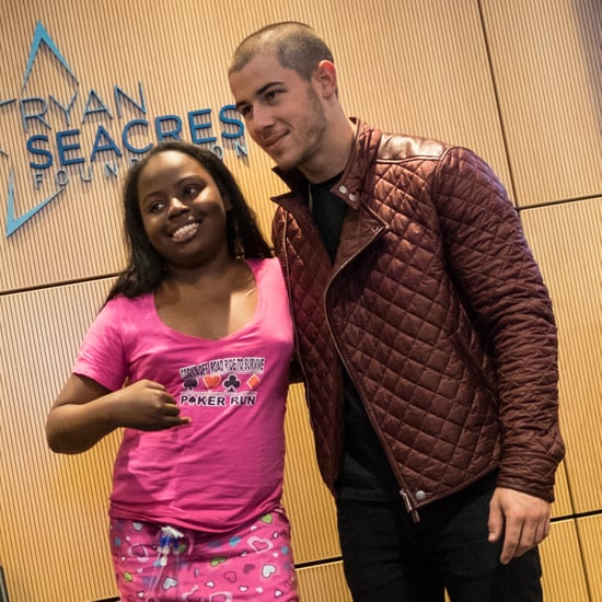 Nick Jonas Visiting the Children's Hospital of Orange County