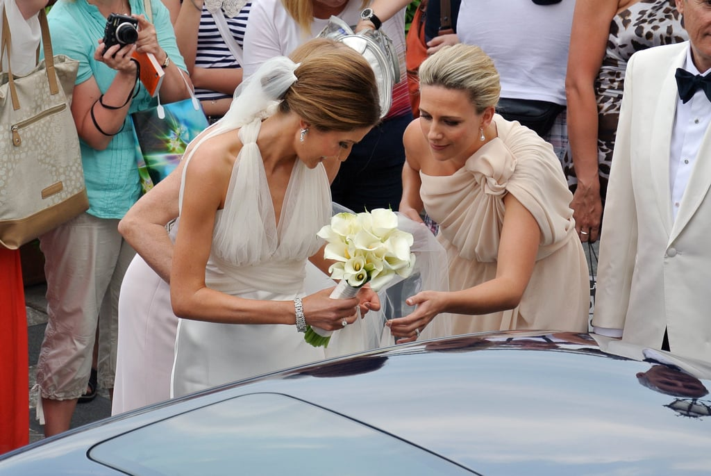Kate Waterhouse With Her Bridesmaids