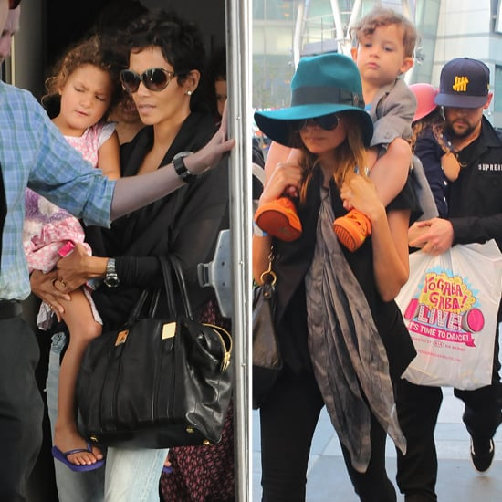 Halle Berry and Nicole Richie See Yo Gabba Gabba Live! With Their Kids