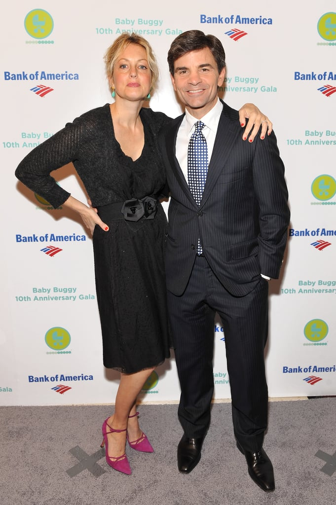 Ali Wentworth and George Stephanopoulos