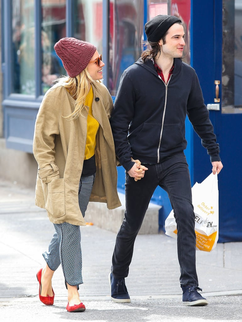 Sienna Miller and Tom Sturridge Snag Takeout For Two