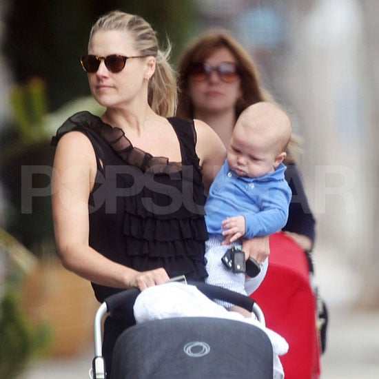 Ali Larter Pictures With Son Theodore MacArthur in Santa Monica