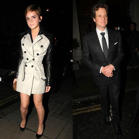 Pictures of Emma Watson, Colin Firth, Amy Adams and More at Pre-BAFTA Party in London