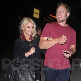 Jessica Simpson and Eric Johnson Pictures at Adele's Concert