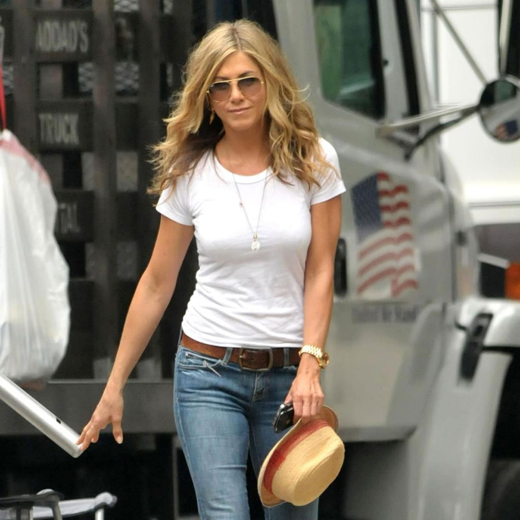 Jennifer Aniston 39 S Street Style Popsugar Fashion